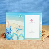 Beach Theme Glass Frame