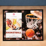 Magnificent basketball frame 4 x 6 from gifts by fashioncraft