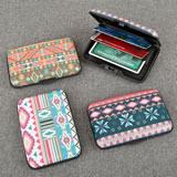 Fun Aztec aluminium wallets from gifts by Fashioncraft