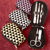 Geometric design manicure set from gifts by fashioncraft