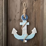 Stunning Anchor Hanger With Single Knob from gifts by fashioncraft