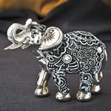 silver and marble elephant - Boho Charcoal fiesta from gifts by fashioncraft