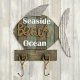 Fish wall sign - Seaside - Beach - Ocean