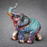 Graffiti style elephant small size from gifts by fashioncraft