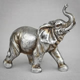 Antique Silver elephant large size from gifts by fashioncraft