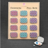 Mosaic Design Pill Box