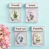 Heartfelt sentiment flowers magnet from gifts by Fashioncraft