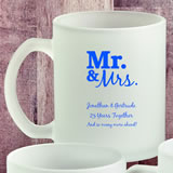 Design your own personalized 11oz frosted glass coffee mug