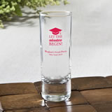 Personalized Fun 2 Oz Shooter Glasses - graduation design