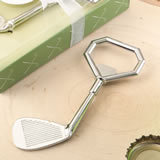 Golf club design metal golf club bottle opener
