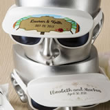 Personalized Collection unique white sunglass and visor combination
