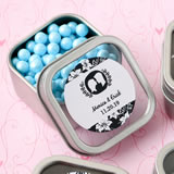 <em>Personalized Expressions Collection</em> Clear Top Mint Tin Favors