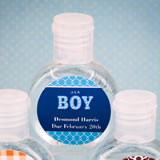 Baby Shower Personalized expressions hand sanitizer favor