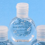 Perfectly plain collection hand sanitizer favor