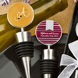 Monogram  Collection wine bottle stopper