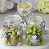 personalized metallics collection apothecary jars with hinged lid