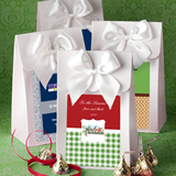 "White ""Delivered With Love"" Boxes From The <em>Design Your Own Collection</em> - Holiday Themed"
