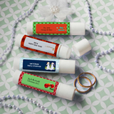 <em>Design Your Own Collection</em> Lip Balm Favors - Holiday Themed