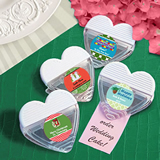 <em>Design Your Own Collection</em> Heart Shaped Memo Clip Favors - Holiday Themed