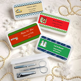 <em>Design Your Own Collection</em> Travel Manicure Sets - Holiday Themed