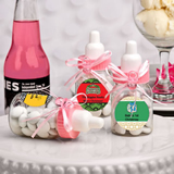 <em>Design Your Own Collection</em> Pink Baby Bottle Favors - Holiday Themed