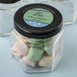 Baby Shower Personalized expressions small hex jar