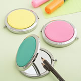 Trendy Bright compact mirrors from Gifts By Fashioncraft