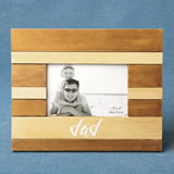 Wood two tone frame - DAD