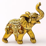 Gold with Jewels elephant - small size from gifts by fashioncraft