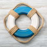 Life Preserver with real rope from gifts by fashioncraft