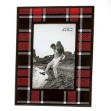 Buffalo plaid glass 4x6 frame