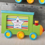 Little Locomotive engine photo frame / placecard holder from fashioncraft