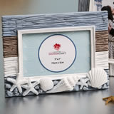 Beach themed photo frame
