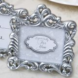 Baroque Pearl Silver Frame