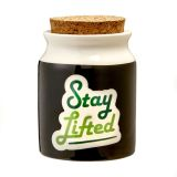 Stay Lifted stash Jar - Large