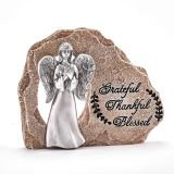ANGEL ON ROCK- GRATEFUL-THANKFUL-BLESSED