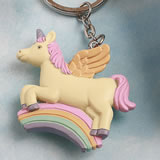 Delightful Unicorn design key chain