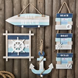 Nautical Wall Decor Gift Set
