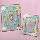 2 Piece Enchanted Unicorn Picture Frame Set