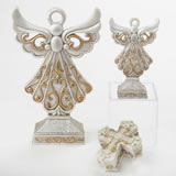 Golden Angel and Cross 3 Piece Gift Set
