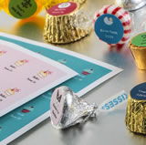 Candy Sticker Sheets (108 labels per sheet)