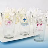 Personalized Pint Glass Favors - Exclusive Designs