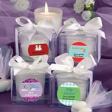 Fashioncraft's <em>Design Your Own Collection</em> Candle Favors - Holiday Themed