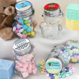 <em>Design Your Own Collection</em> Personalized Teddy Bear Jars - Holiday Themed
