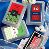<em>Design Your Own Collection</em> Playing Card Favors - Holiday Themed