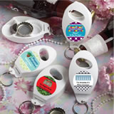 <em>Design Your Own Collection</em> Bottle Opener/Key Chain  Favors - Holiday Themed