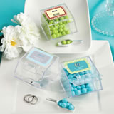 <em>Design Your Own Collection</em> candy bin & scoop favors - Holiday Themed
