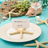 Stunning Starfish design placecard holder from fashioncraft