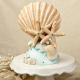 <em>Life's a Beach Collection</em> cake topper