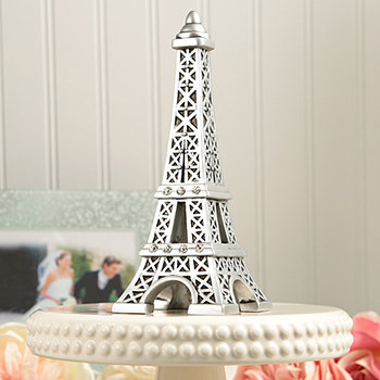 From Paris With Love Collection, Eiffel Tower Centerpiece / Cake Topper